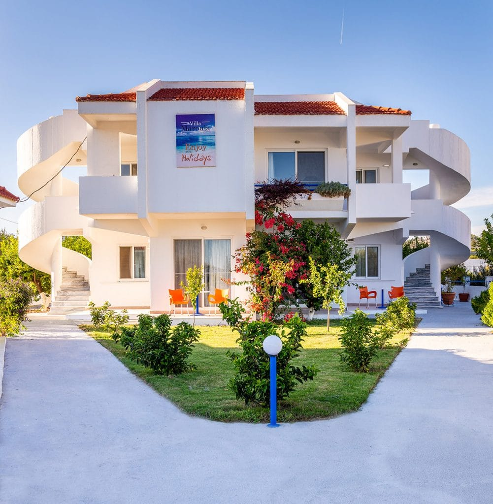 Villa Maroula exterior view